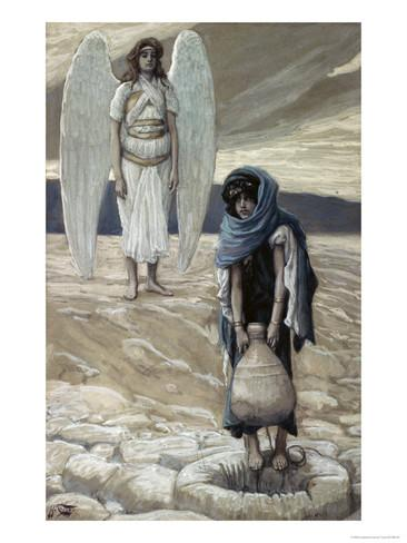 james-tissot-hagar-and-the-angel-in-the-desert