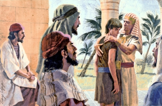 Joseph-and-Benjamin-in-Egypt