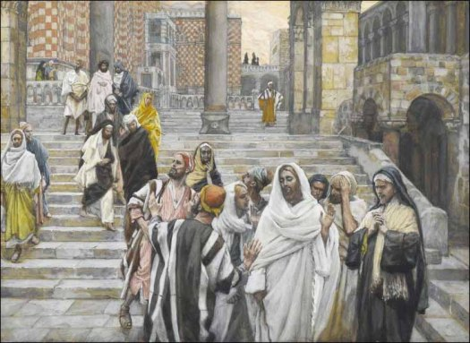 tissot-the-disciples-admire-the-buildings-of-the-temple