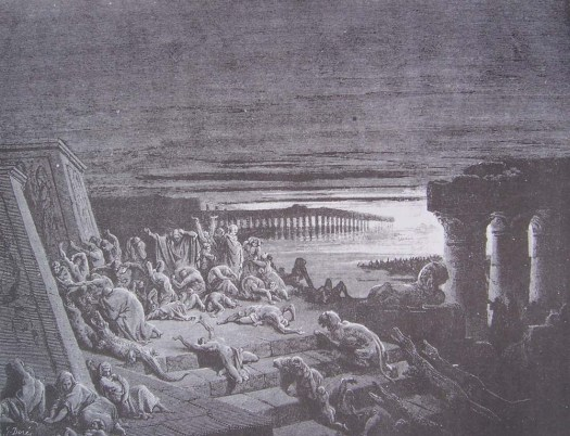 gravure-dore-bible-plague-of-darkness