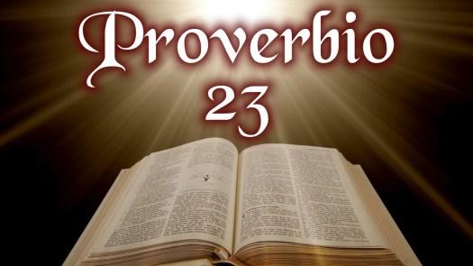proverbio 23