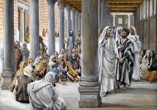James_Tissot_Jesus_Walks_in_the_Portico_of_Solomon_700