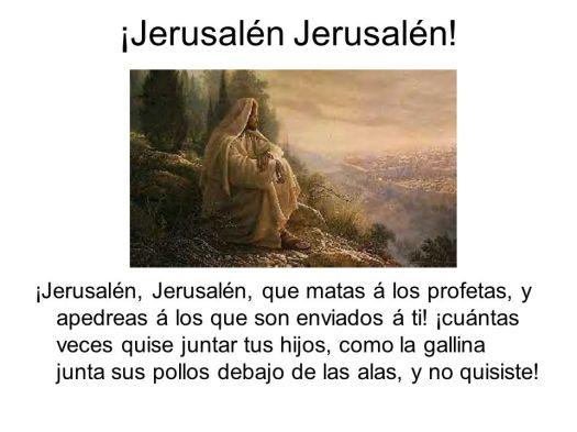¡Jerusalén+Jerusalén!