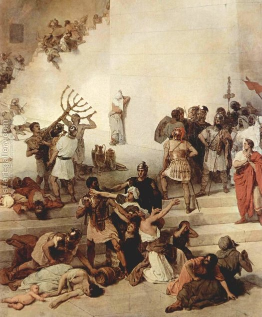 The-Destruction-Of-The-Temple-Of-Jerusalem,-Detail