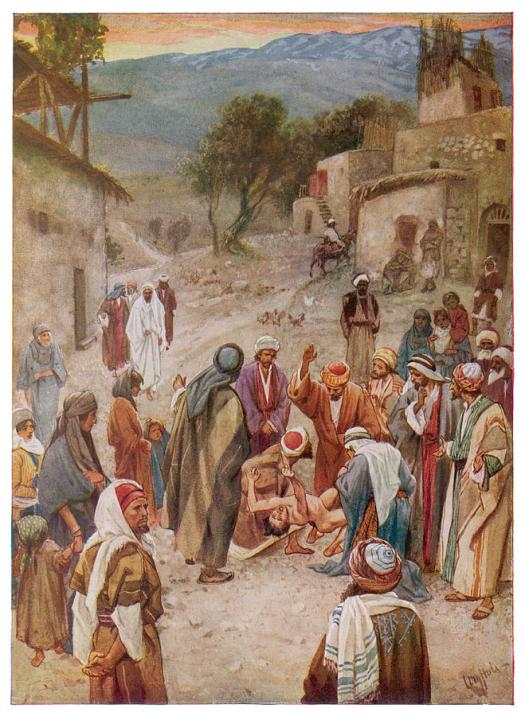 jesus-heals-a-boy-after-his-disciples-mary-evans-picture-library