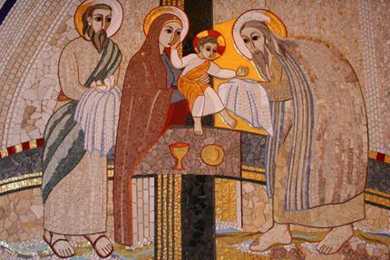 presentación de jesús en el templo
