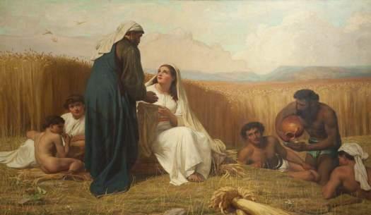 Wynfield, David Wilkie, 1837-1887; Ruth and Boaz