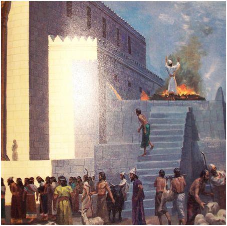 1 sacrificio templo