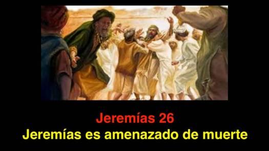 Jeremías 26