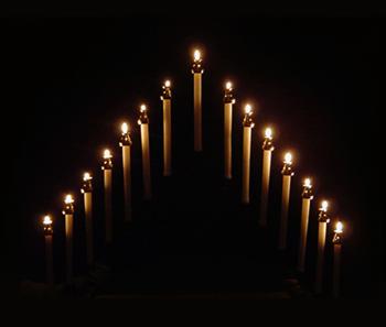 tenebrae-candles