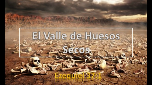 valle de huesos secos