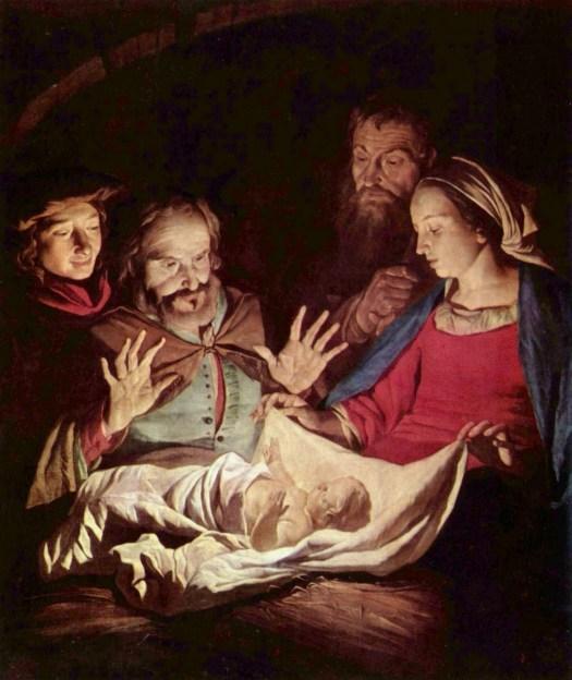 19-Nativity-by-Gerard-van-Honthorst