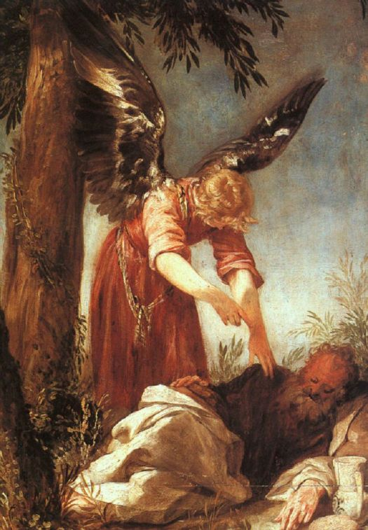 Juan_Antonio_Frias_y_Escalante_An_Angel_Awakens_the_Prophet_Elijah-5716cf343df78c3fa2e61848