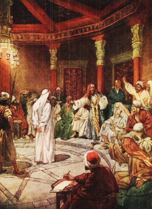 before the sanhedrin