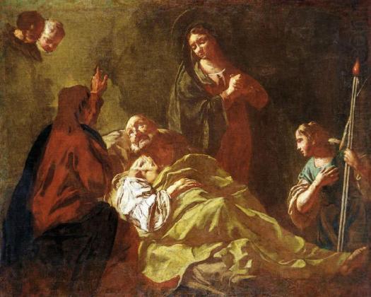 Giovanni Battista Piazzetta-Jacob'sburial