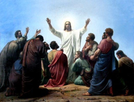 jesus appears to the apostles