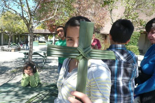 Lupita palm sunday cross
