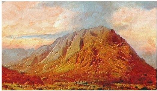 mount-sinai-painting