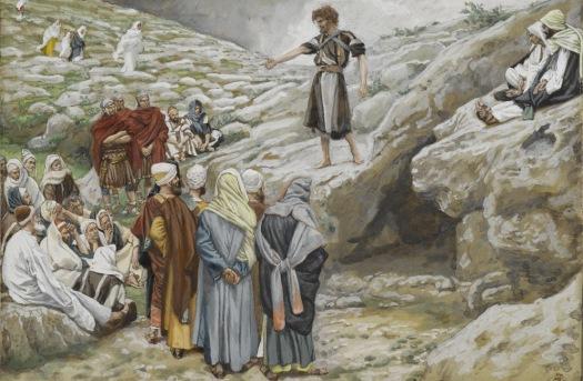 John the Baptist and Pharisees