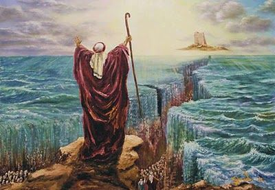 Mosespartingthe redsea