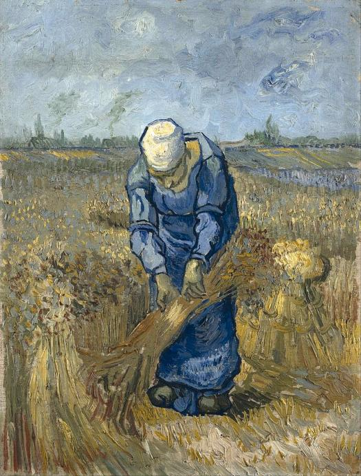 peasant-woman-binding-sheaves-at-wheat-fields-van-gogh-series-by-vincent-van-gogh-vincent-van-gogh
