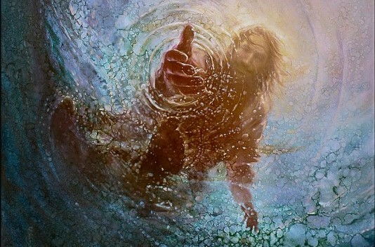 jesus-saves-peter-painting-22