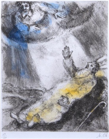 marc-chagall-death-of-moses-(from-bible)