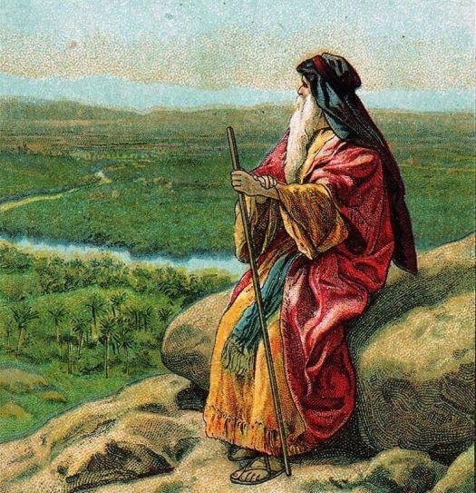 Moses at Mt. Pisgah