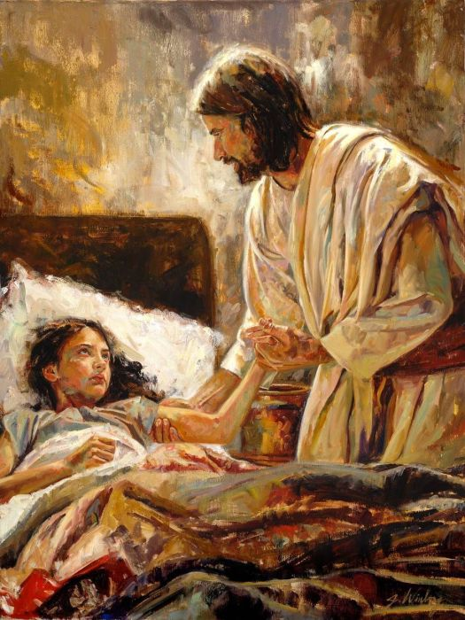 jesus heals jarius' daughter