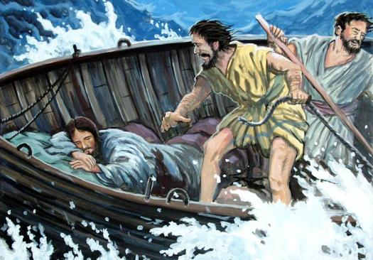 jesus-sleeping