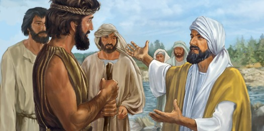 John the Baptist talks about Jesus