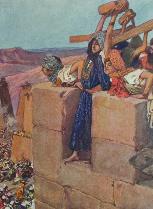 The+Death+of+Abimelech+by+James+Tissot+(1836-1904)