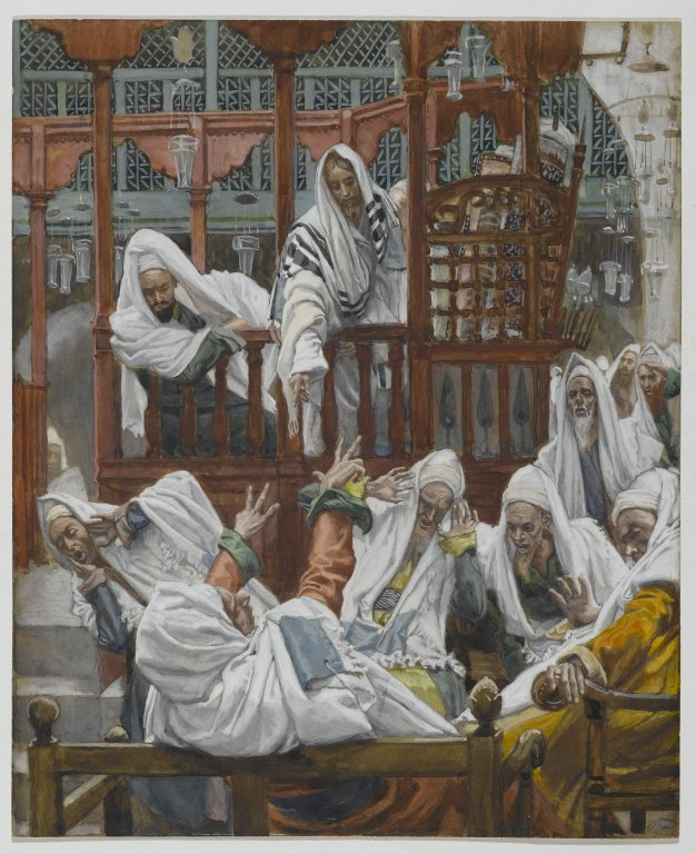 The_Possessed_Man_in_the_Synagogue_(_James_Tissot