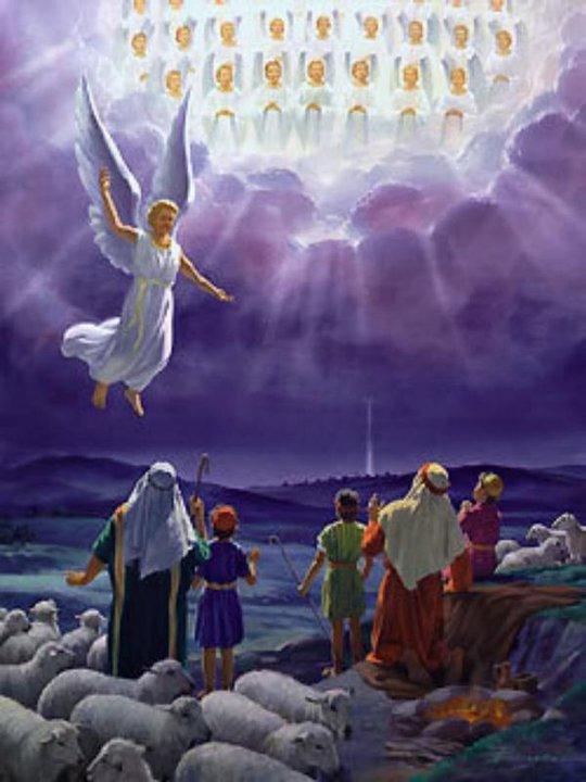 Pastores y los ángeles