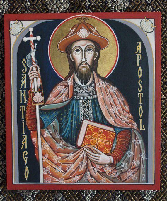 icono de santiago apóstol