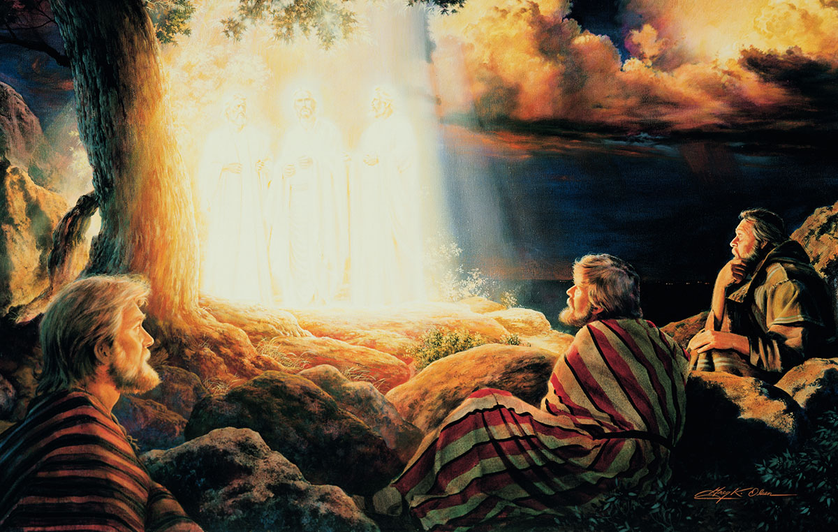 the-transfiguration-of-christ-greg-olsen